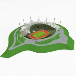 DOSCH Single 3D Objects: Munich Olympia Stadium