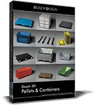 DOSCH 3D: Pallets & Containers